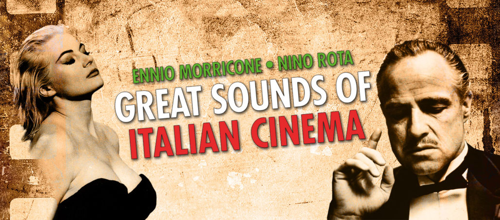 Great Sounds Of Italian Cinema The Filmscores Of Ennio Morricone